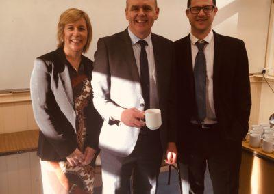 Lisa & Jon Lomax with Minister of Education, Joe McHugh