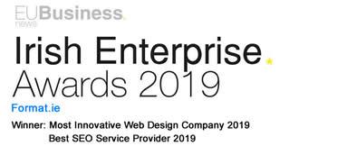 Irish Enterprise Awards 2019 Format.ie Winner