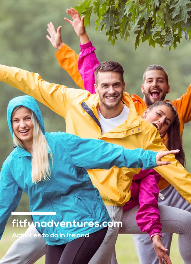 Fit Fun Adventures - one of websites created by Format.ie
